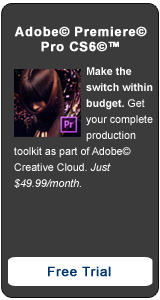 Adobe Premiere Pro CS6