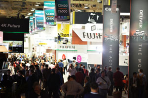 Crowd at NAB Show