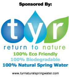 Sponsored By Tyr Natural Spring Water